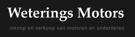 Weterings Motors Dongen logo